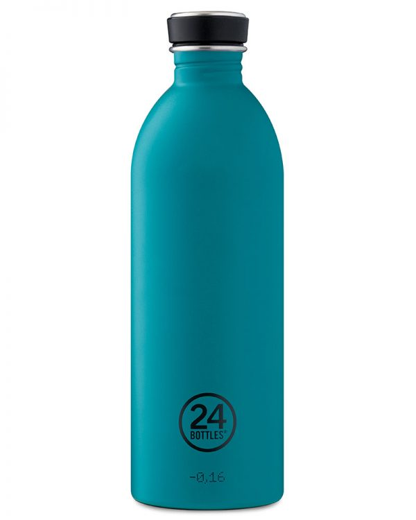 Trinkflasche von 24bottle in atlantic bay 1 Liter