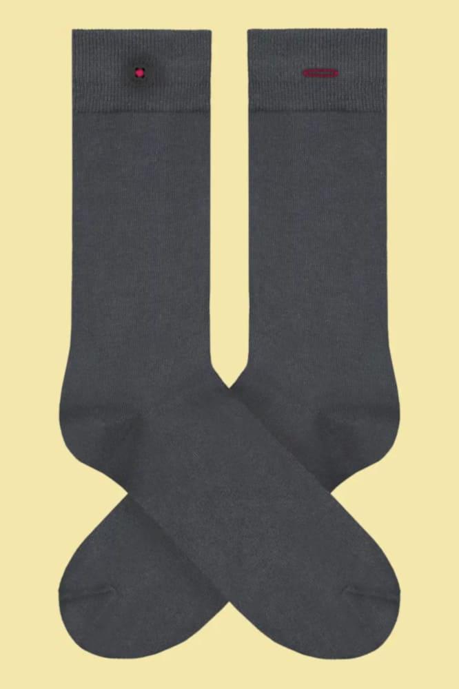 Socken in grau