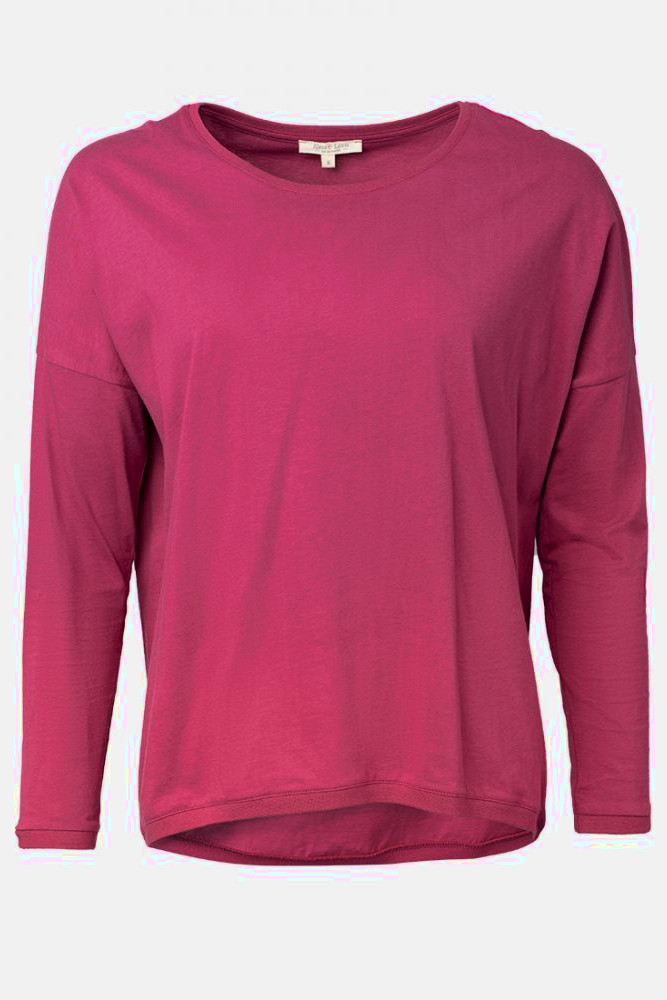 Alma Lovis Loose Shirt Berry