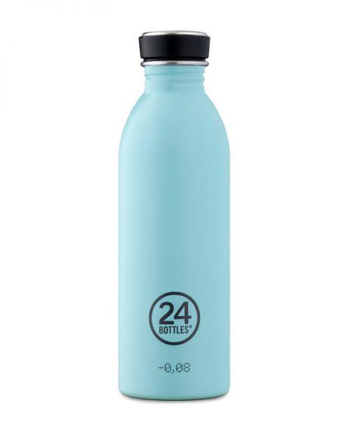 Trinkflasche von 24bottles in cloud blue