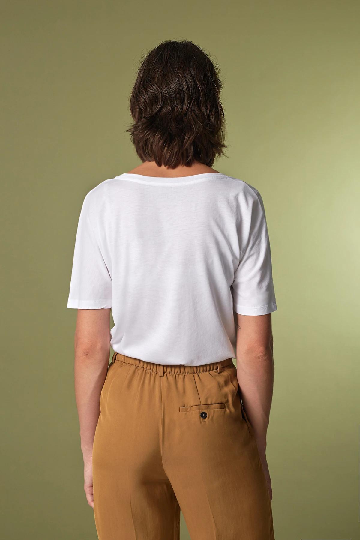 Funktionschnitt T Shirt Batty Weiss 2
