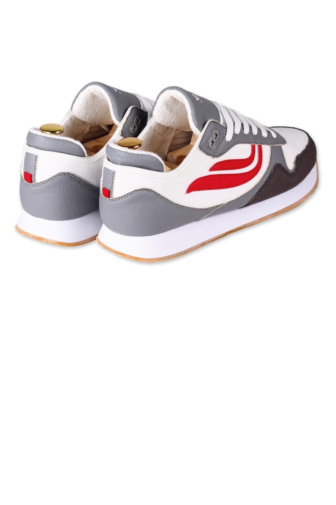 Genesis Iduna Pet Grey White Red 1