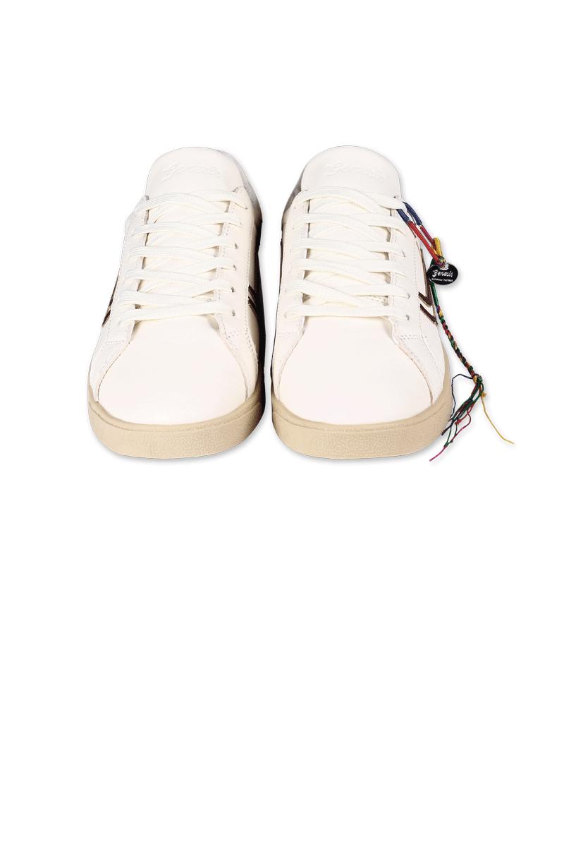 Genesis Sneaker Hela Weiss Mahagoni 4
