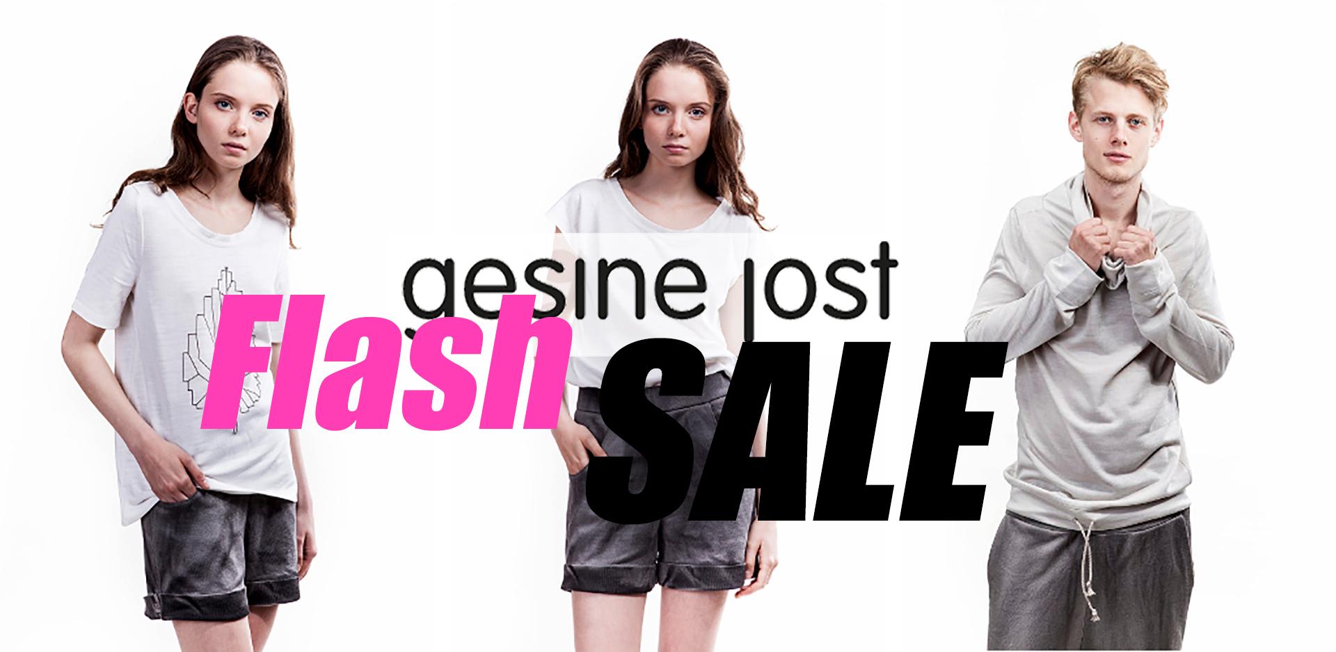 Gesin Jost Flash Sale @ roberta organic fashion Düsseldorf FB