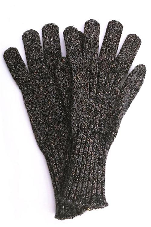 Handschuhe mit Lurex