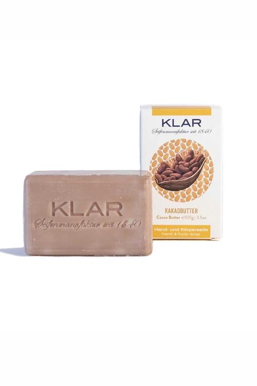 Klar | Kakaobutter Seife