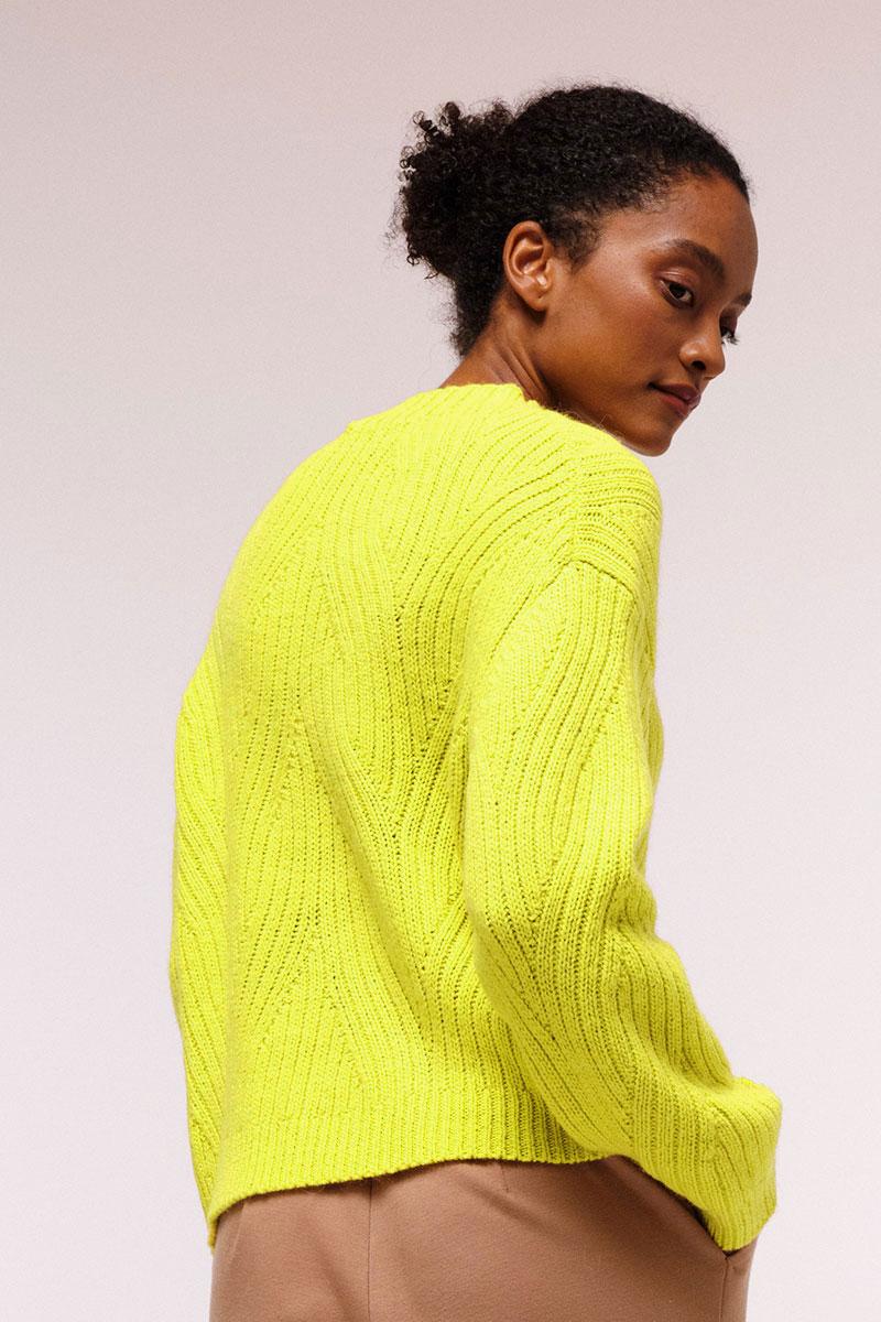 Lanius Pulli Neon Yellow 1