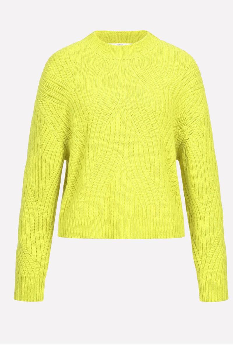 Lanius Pulli Neon Yellow 5