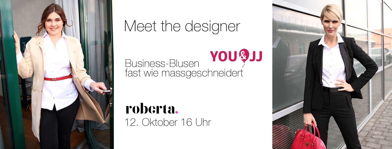Business-Bluse von You&JJ mit perfekter Passform