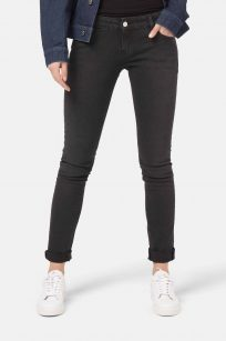 Skinny Jeans skinny Lilly von Mud in stone black schwarz