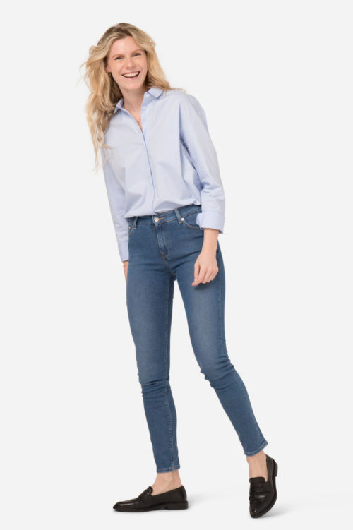 Skinny Jeans von Mud in pure blue