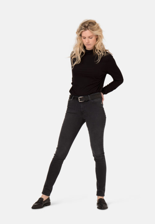 Skinny Jeans von Mud in stone black Skinny Hazen