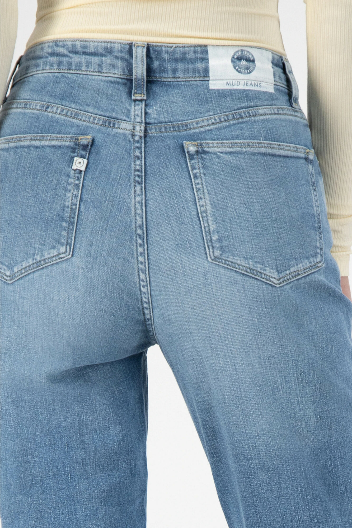 Mud Jeans Mams Stretch Old Stone 1