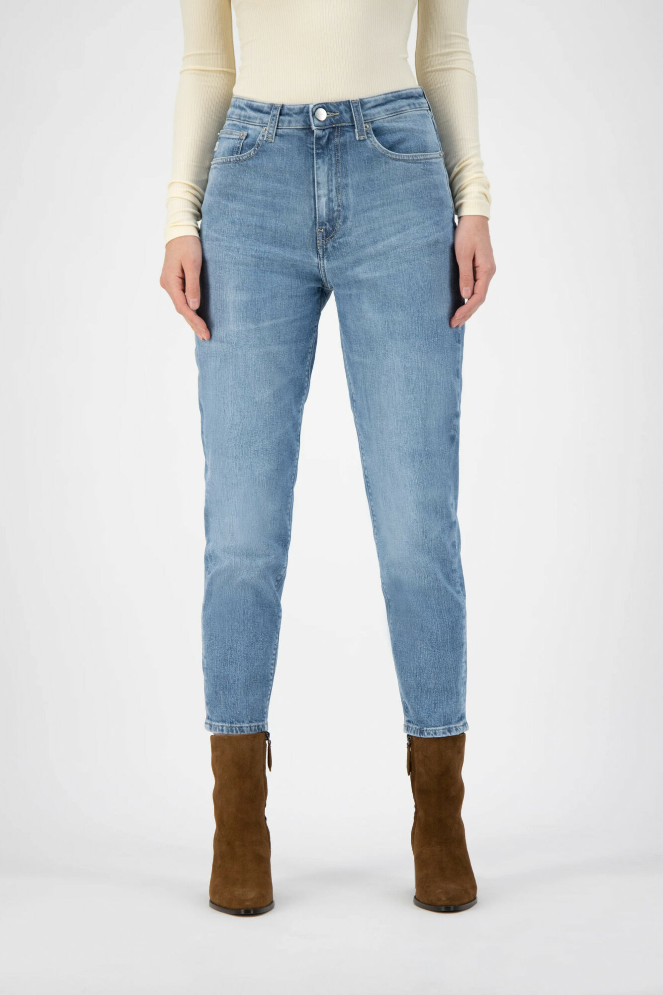 Mud Jeans Mams Stretch Old Stone 2