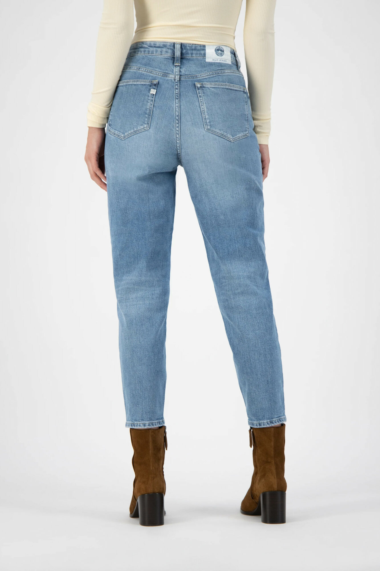 Mud Jeans Mams Stretch Old Stone 3
