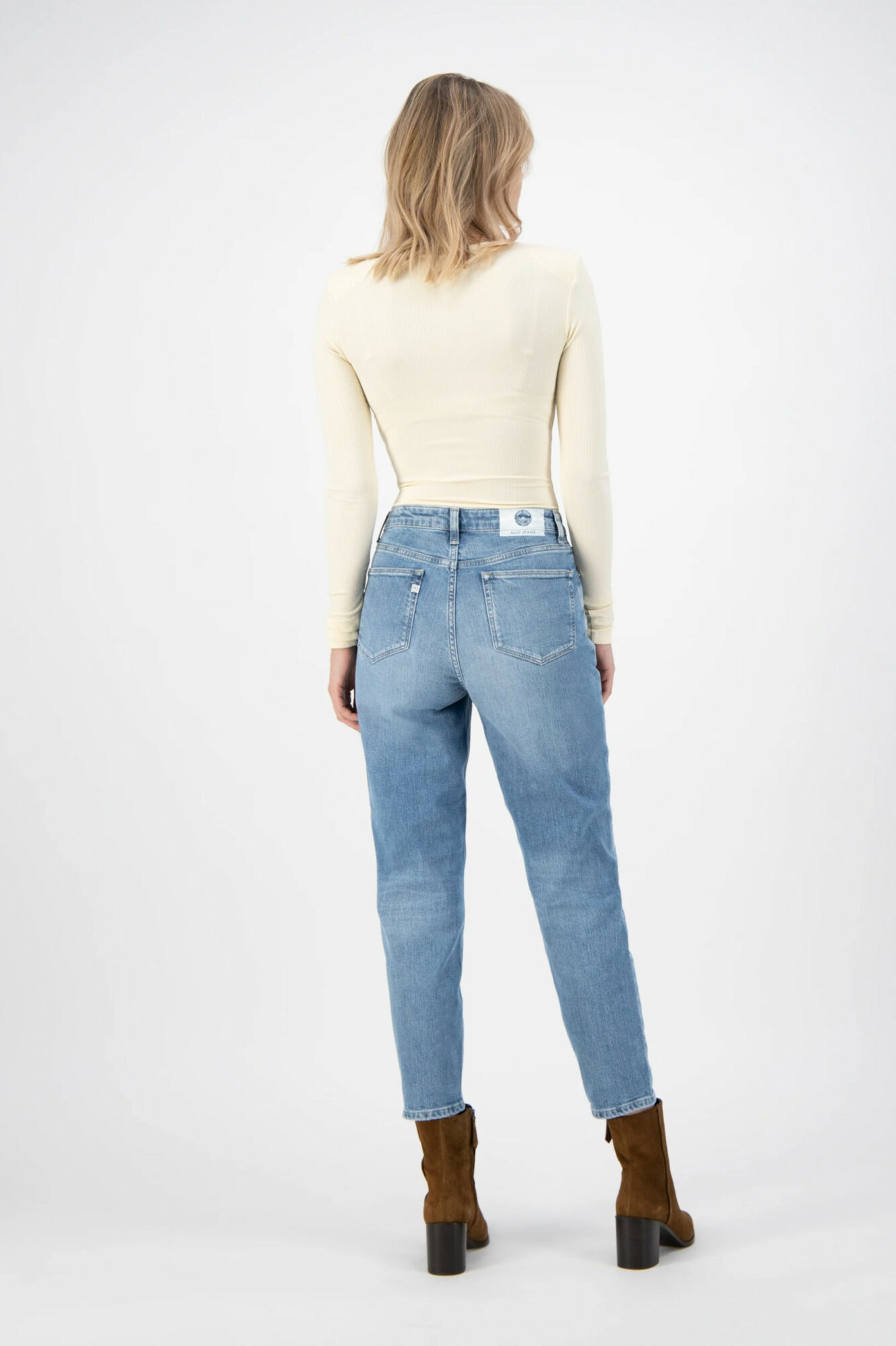 Mud Jeans Mams Stretch Old Stone 5