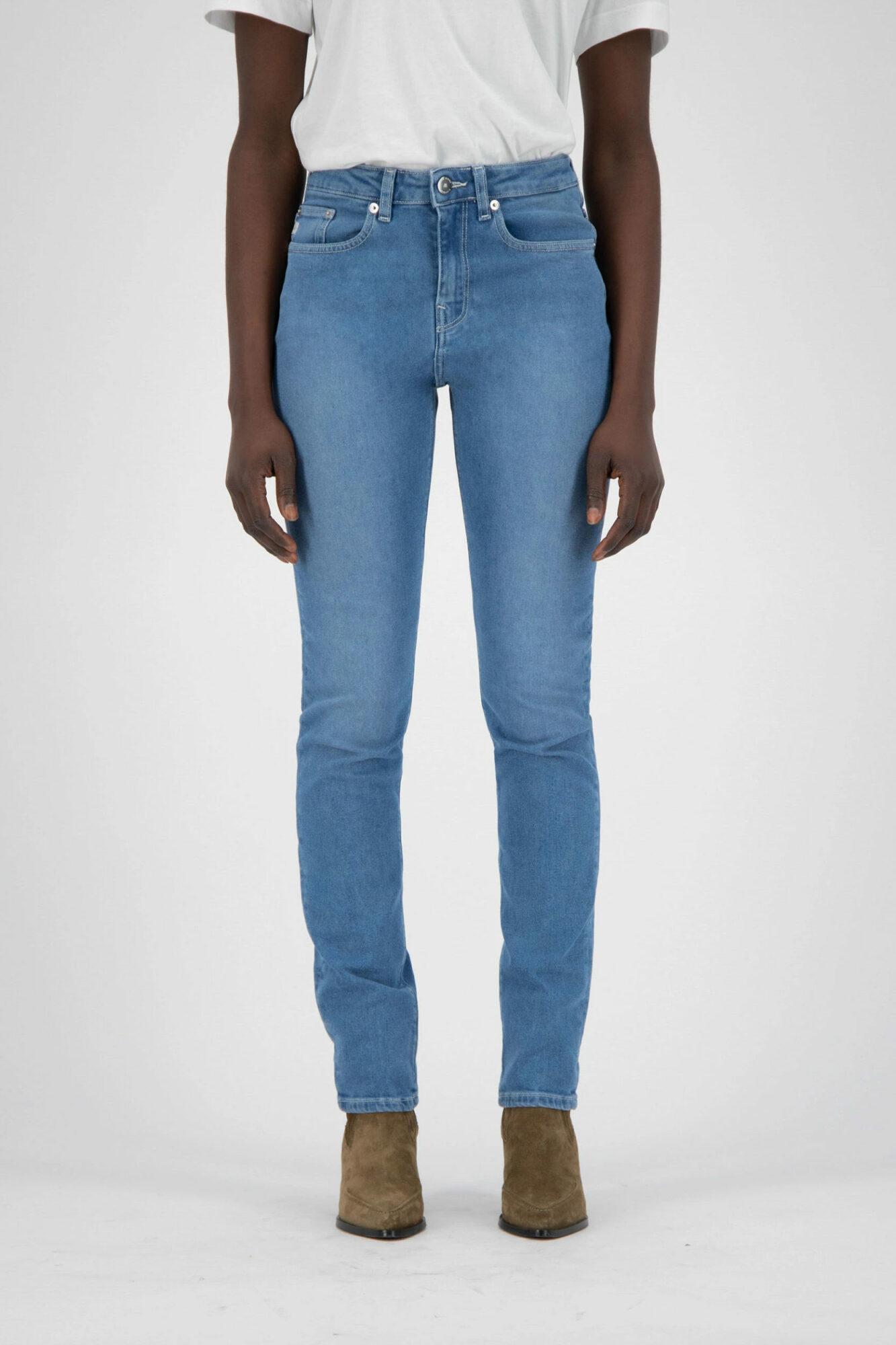 Mud Jeans Stretch Mimi Pure Blue 3
