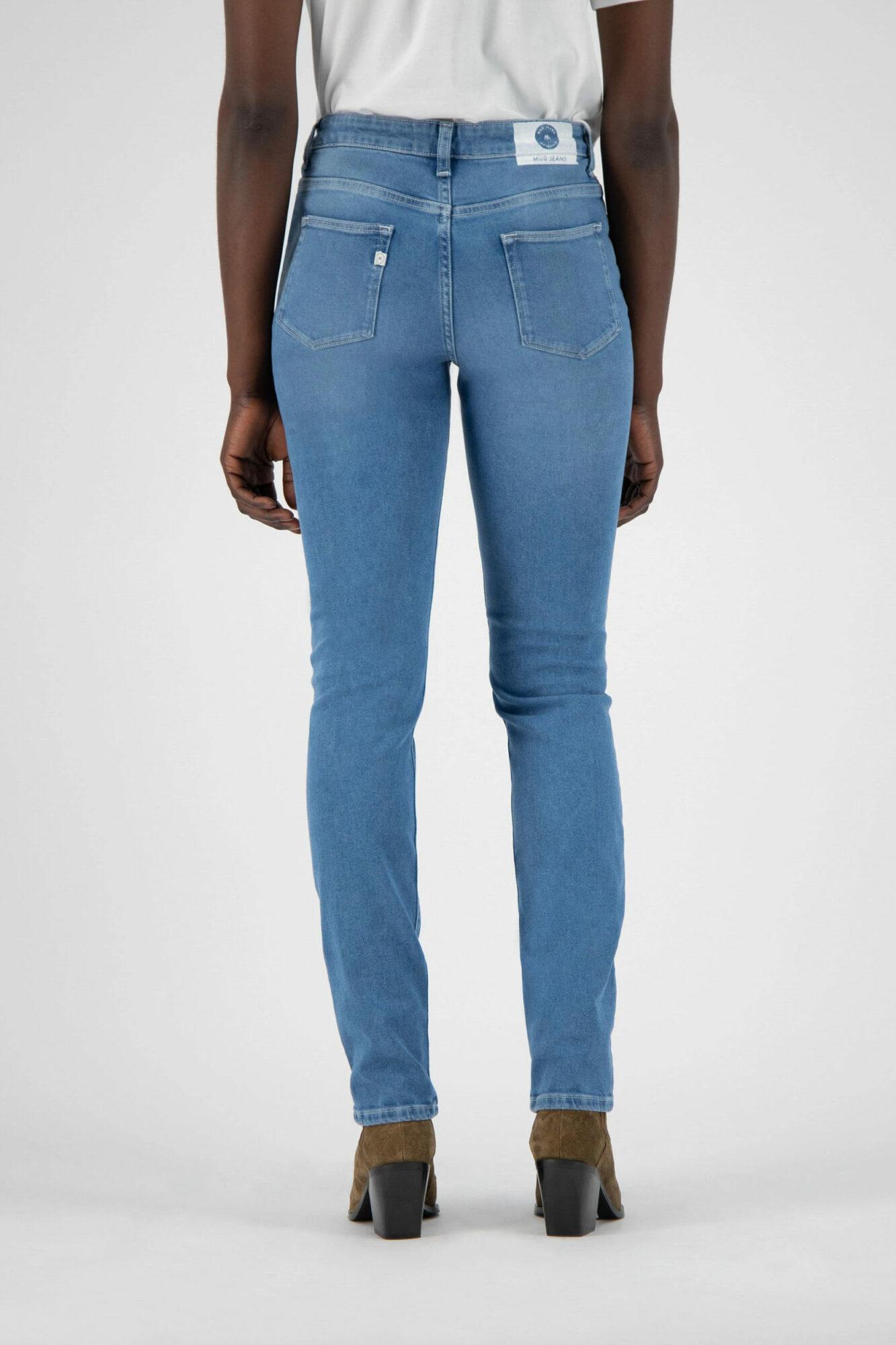 Mud Jeans Stretch Mimi Pure Blue 4