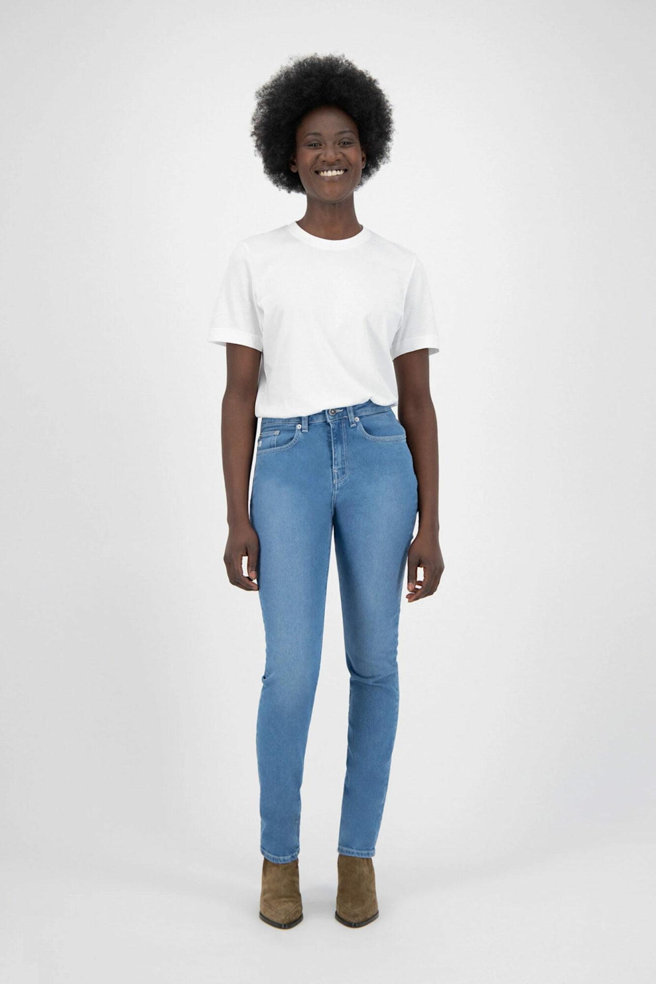 Mud Jeans Stretch Mimi Pure Blue 5