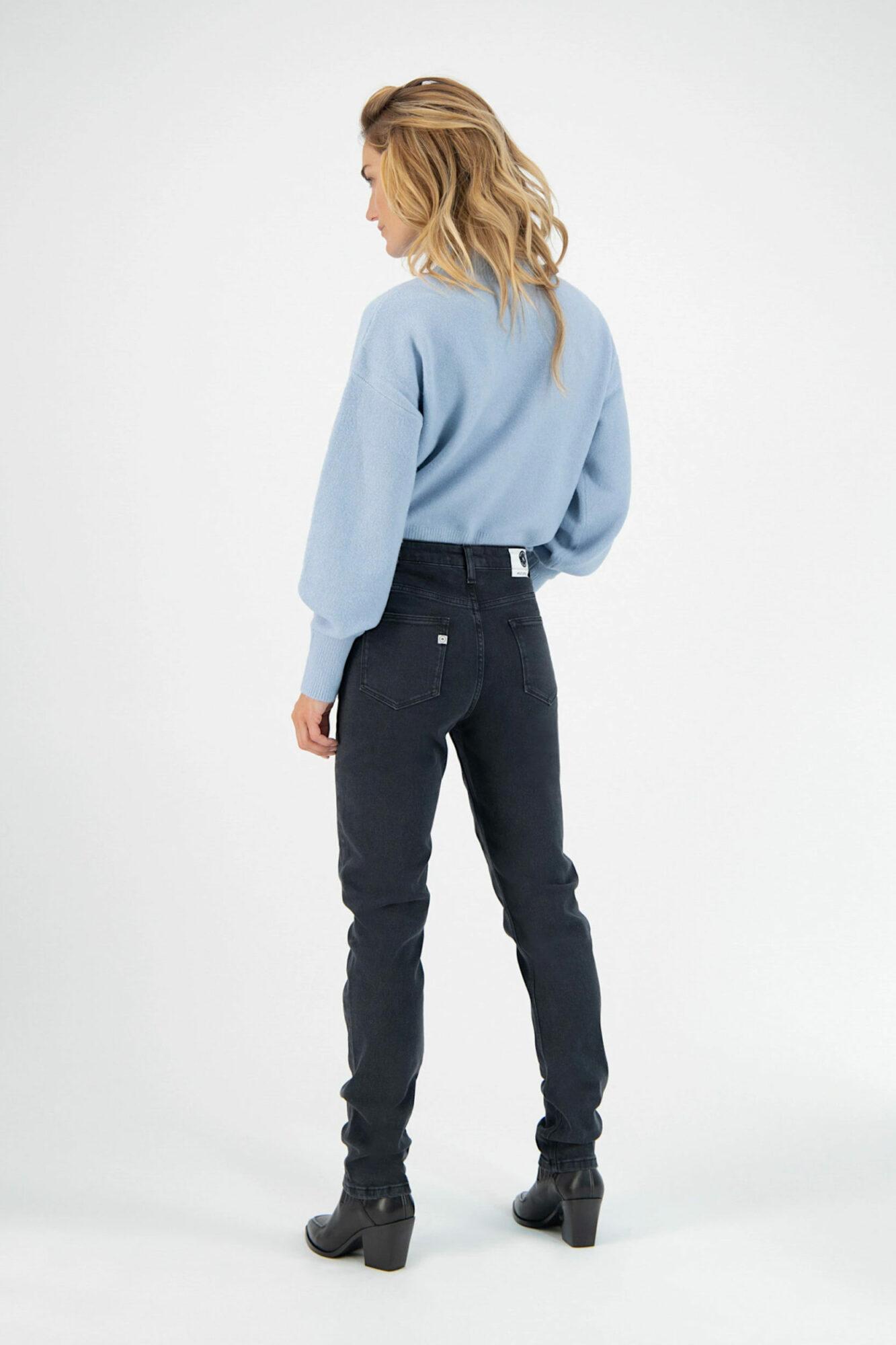 Mud Jeans Stretch Mimi Stone Black 1