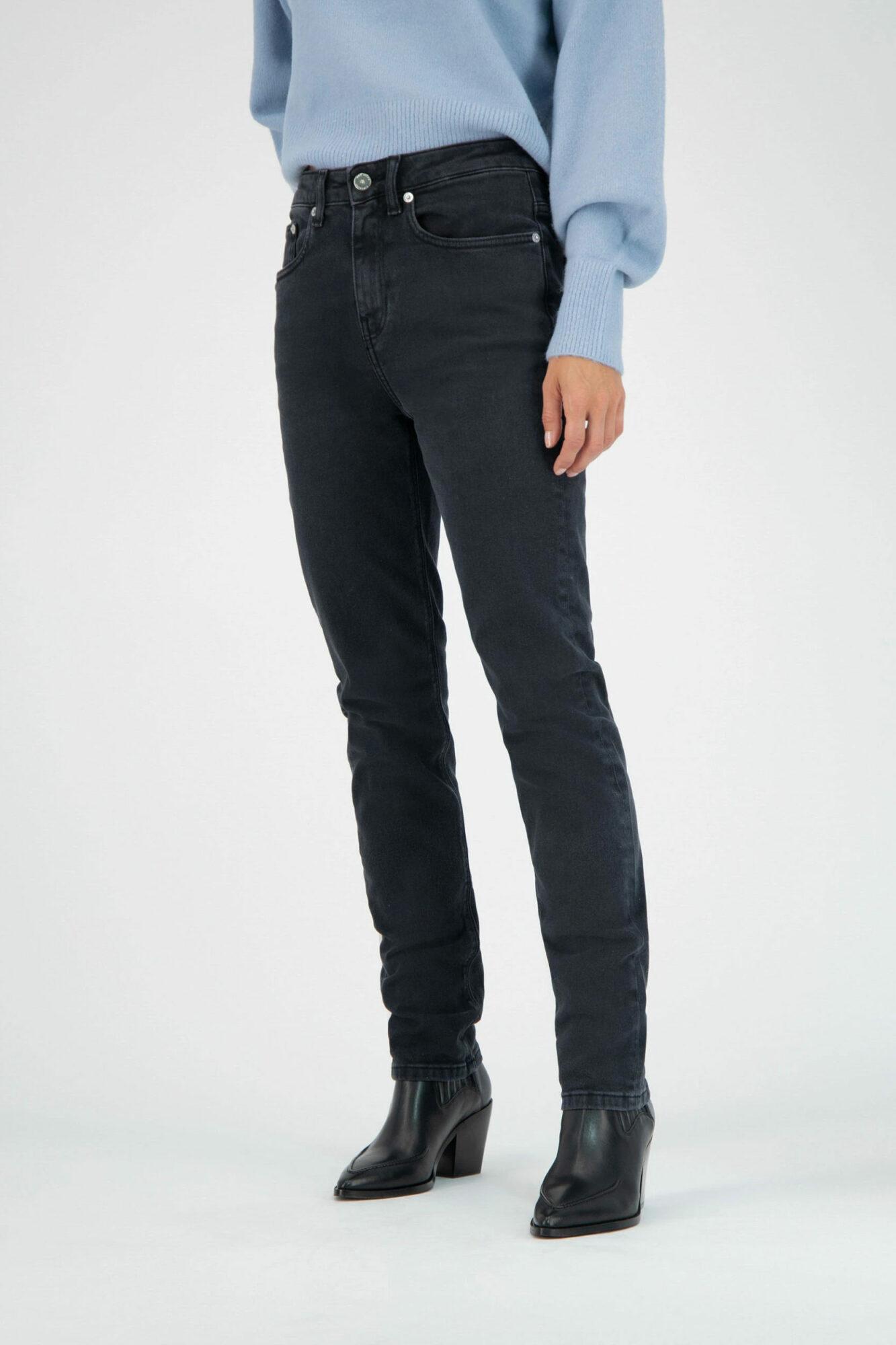 Mud Jeans Stretch Mimi Stone Black 3