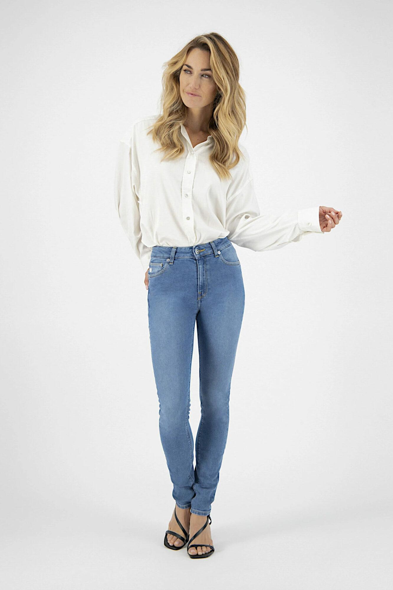 Mud Jeans Skinny Hazen Pure Blue 3