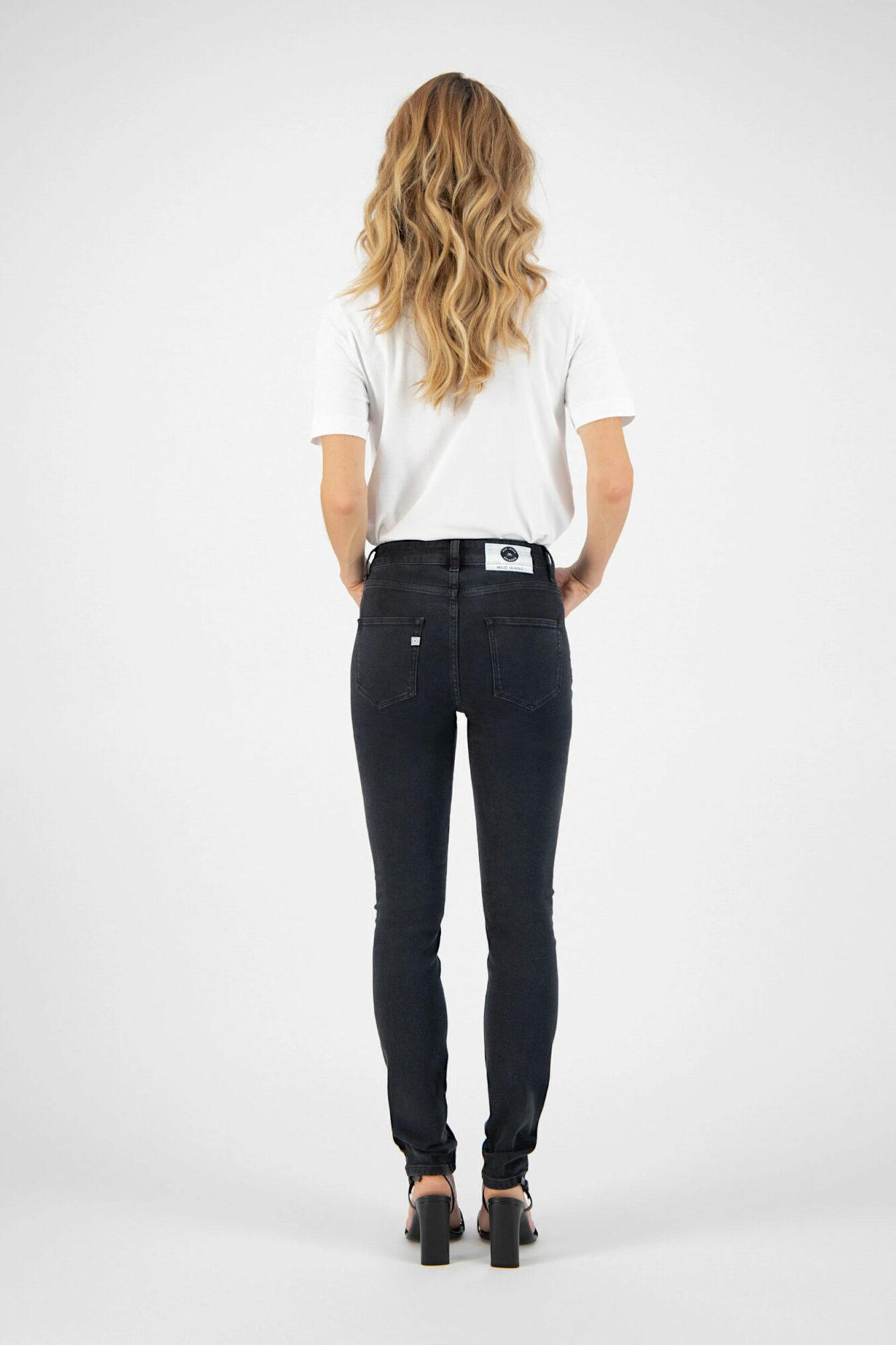Mud Jeans Skinny Hazen Stone Black 1