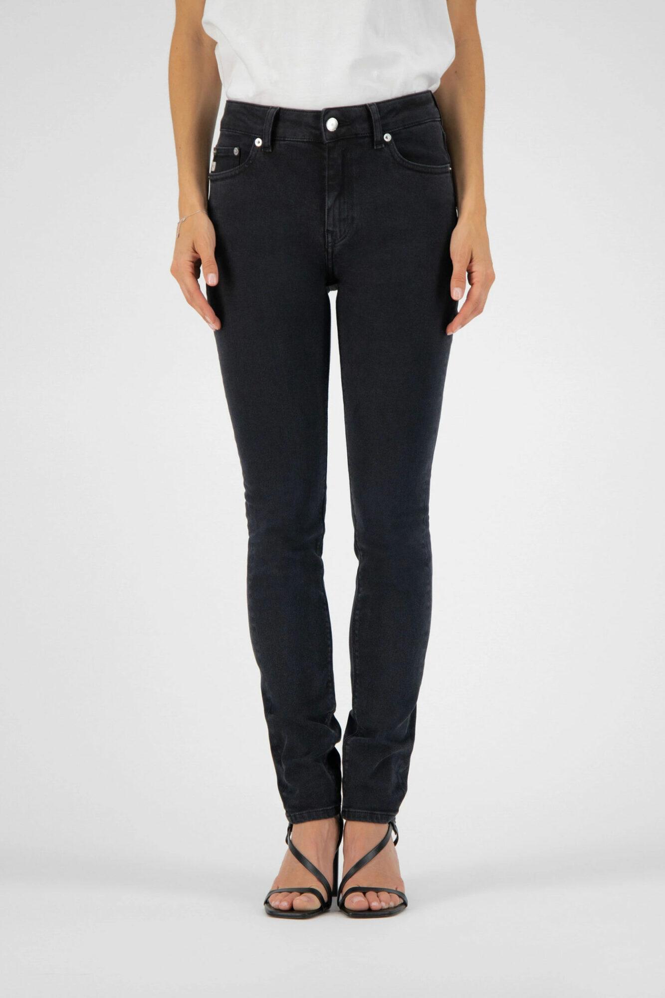 Mud Jeans Skinny Hazen Stone Black 2