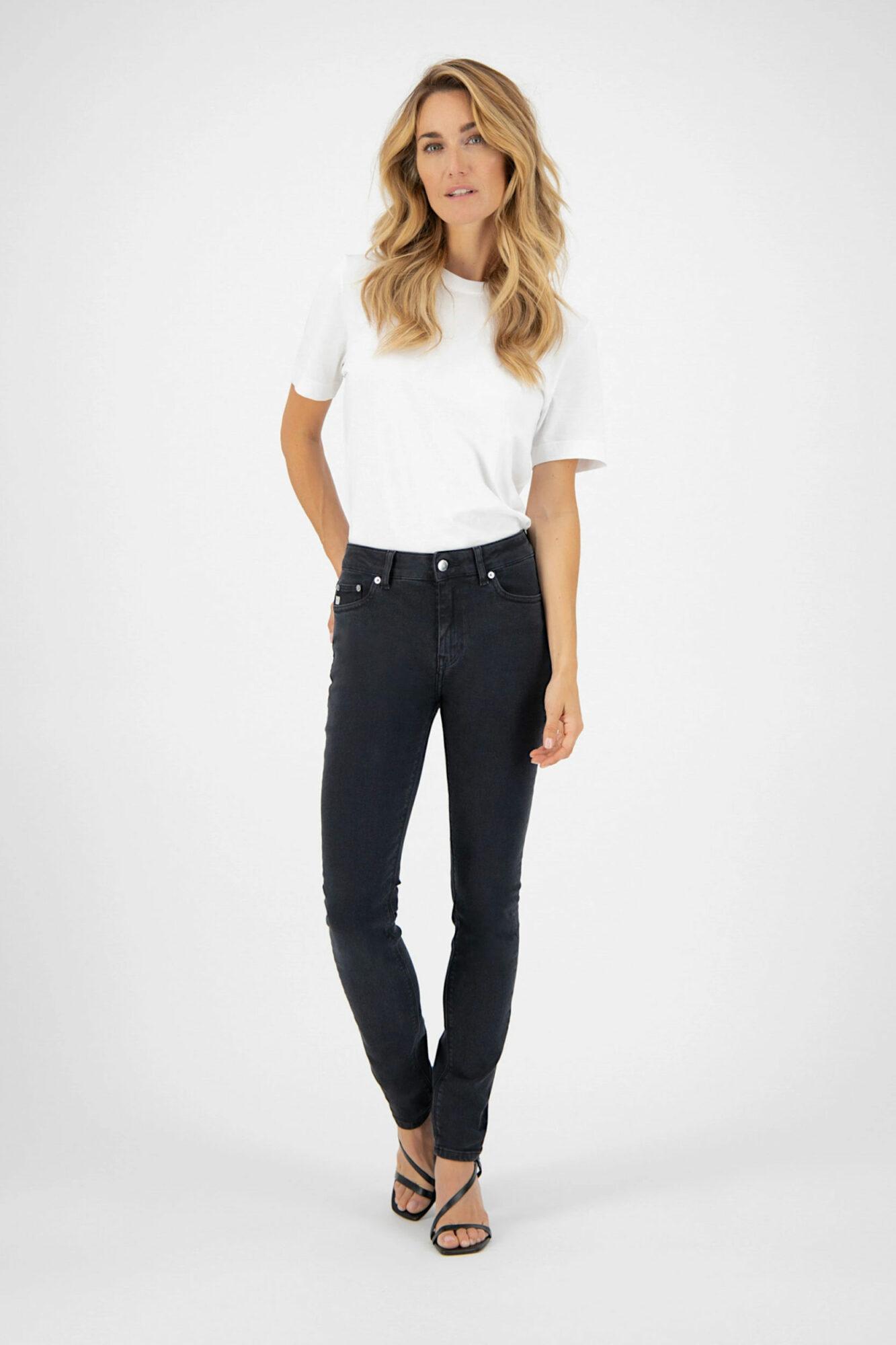 Mud Jeans Skinny Hazen Stone Black 4