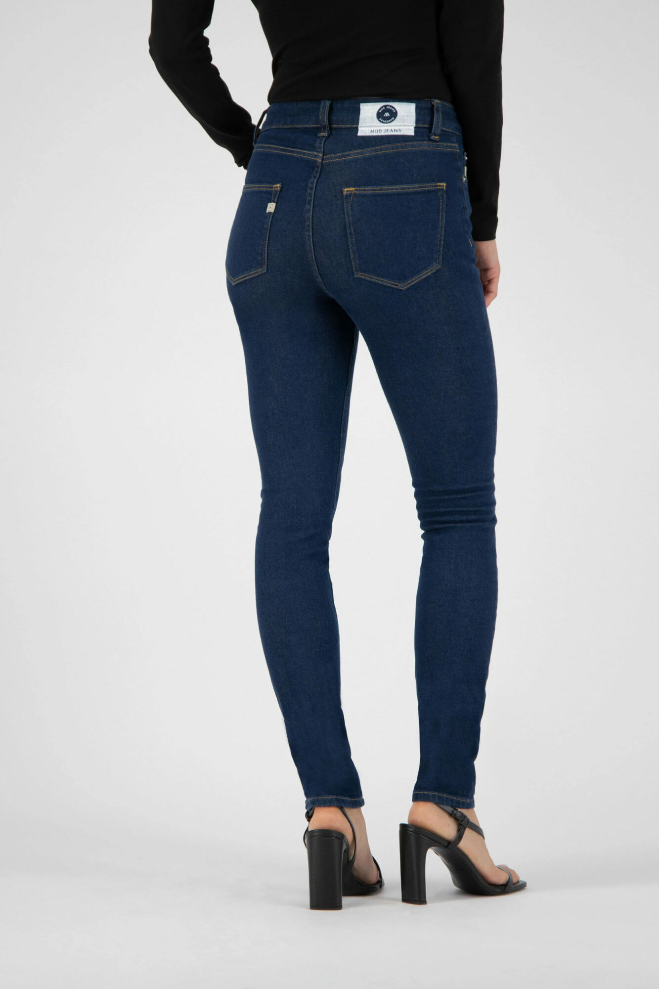 Mud Jeans Skinny Hazen Strong Blue 3