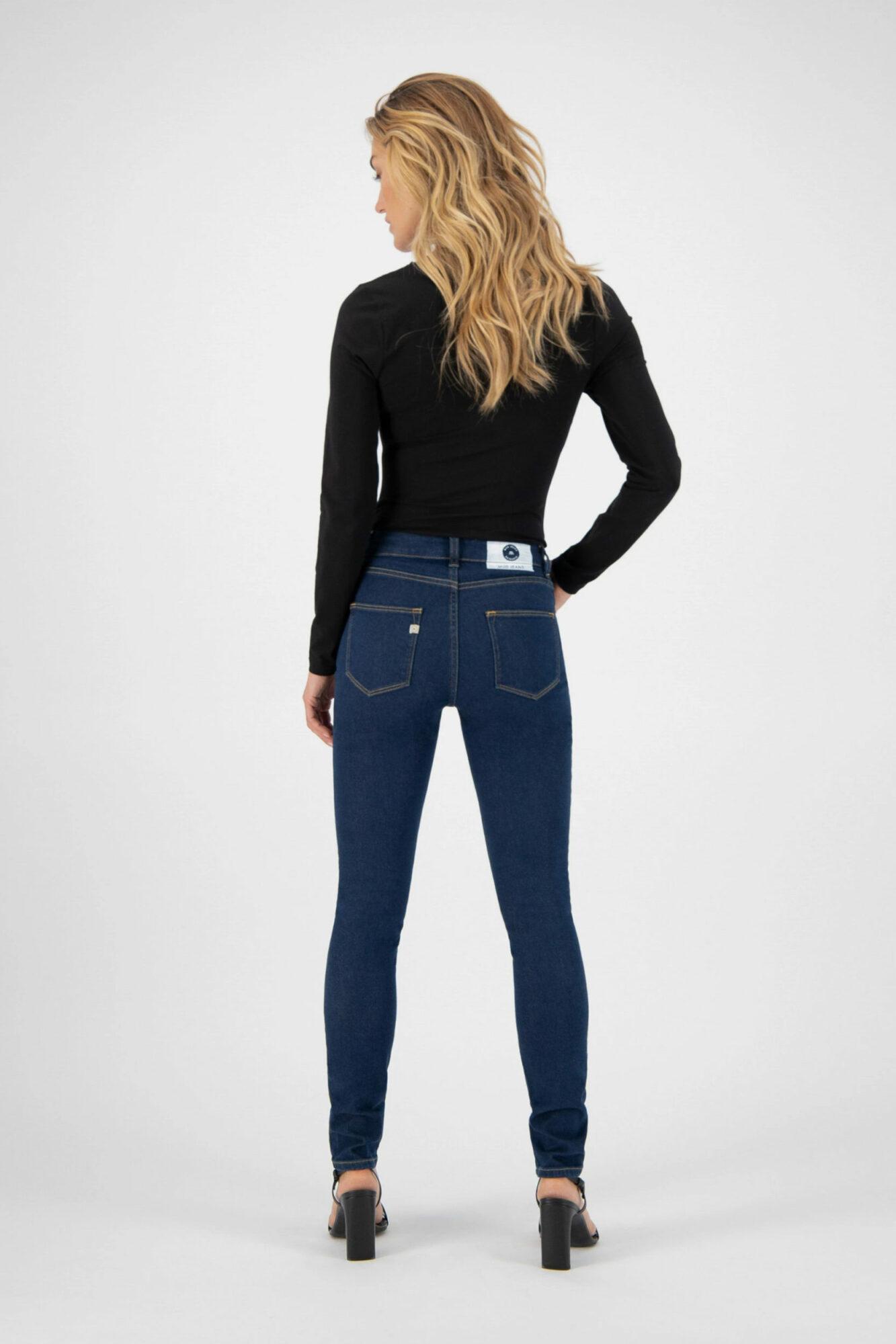 Mud Jeans Skinny Hazen Strong Blue 5