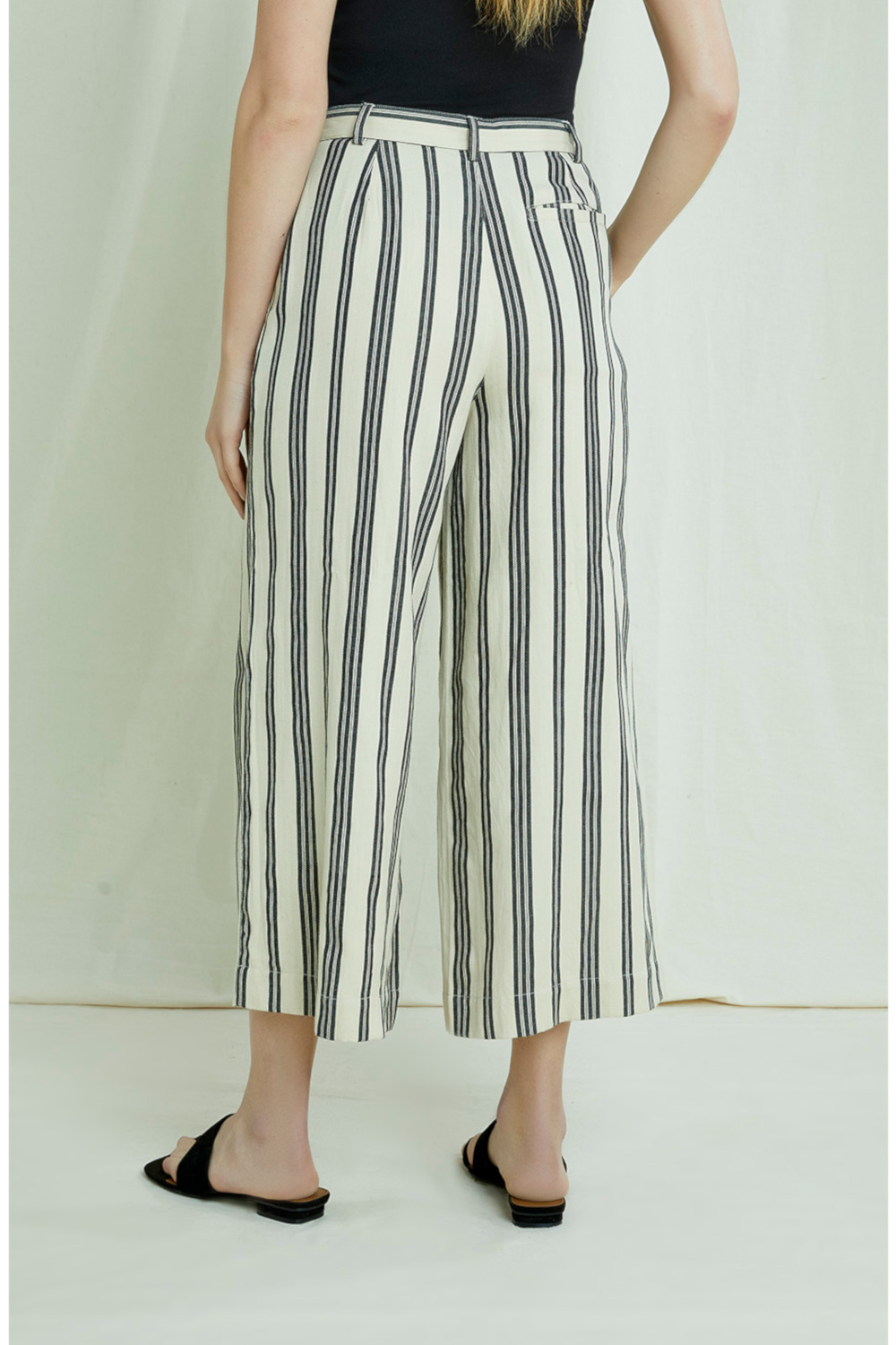 Peopletree Culotte Shauna Striped 1