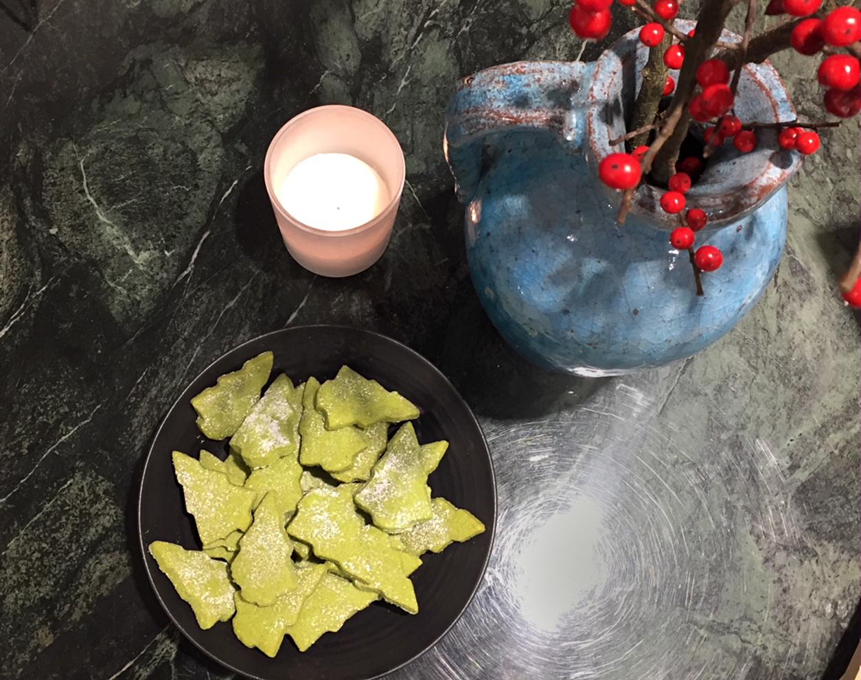 Matcha Cookies Rezept von roberta organic fashion