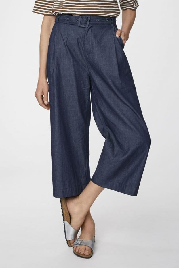 Culotte in Dunkelblau von Thought
