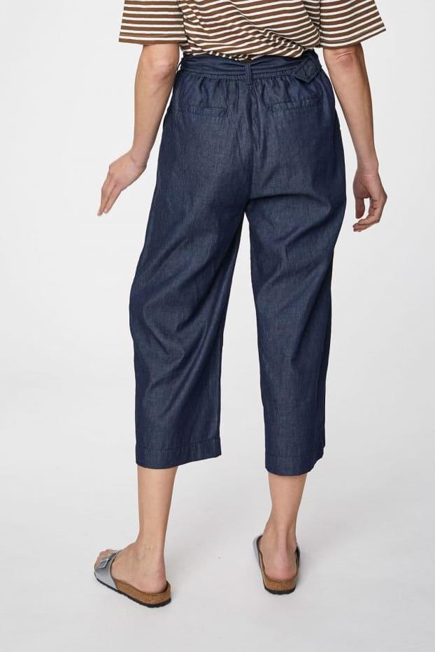 Roberta Organic Fashion Thought Culottes navy 2