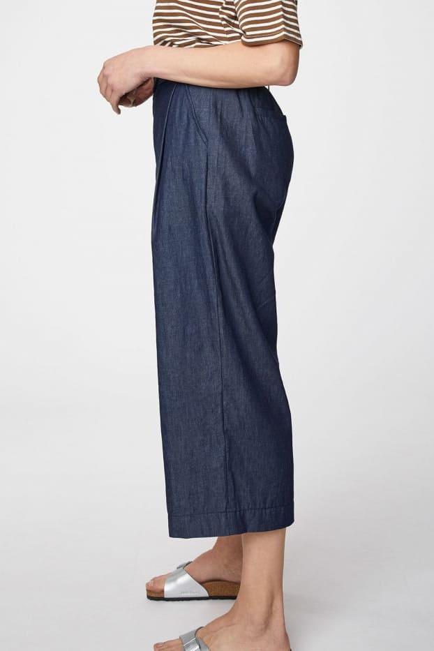 Roberta Organic Fashion Thought Culottes navy 3