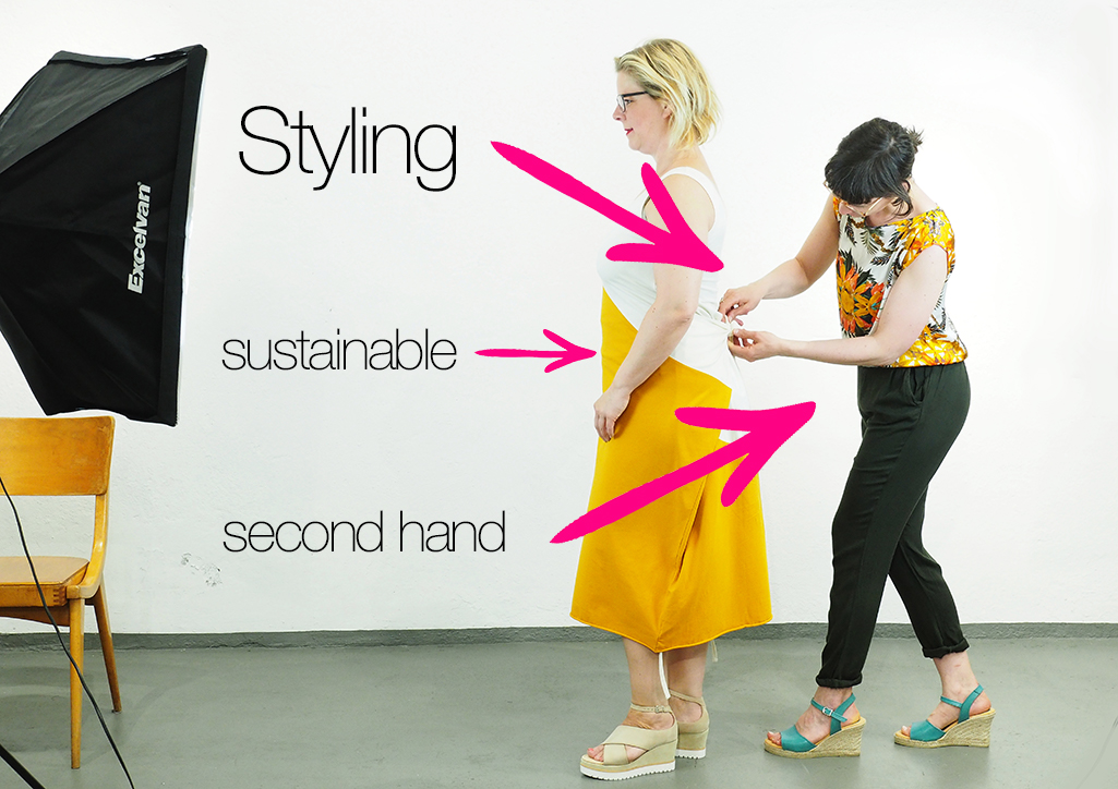 Fairfashion Styling, eco fashion und Vintagemode
