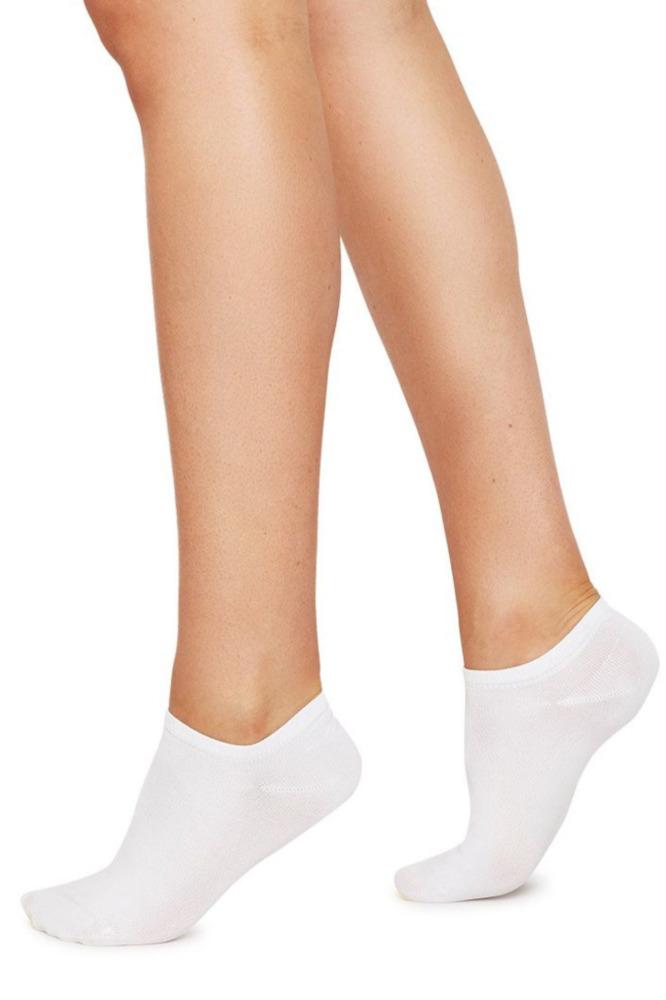 Swedish Stockings Sneaker Socken Weiß 1