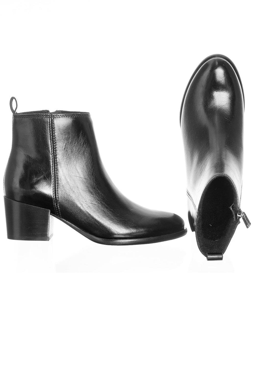 Ten Points Ankle Boots Jonna Schwarz 2