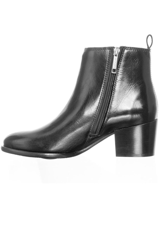 Ten Points Ankle Boots Jonna Schwarz 3