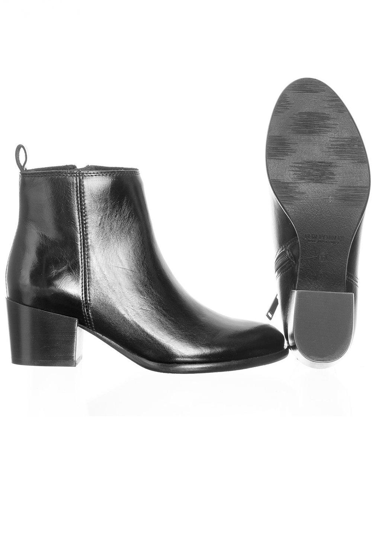 Ten Points Ankle Boots Jonna Schwarz 4