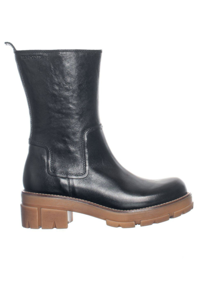 Ten Points Combat Boots Cecilia schwarz