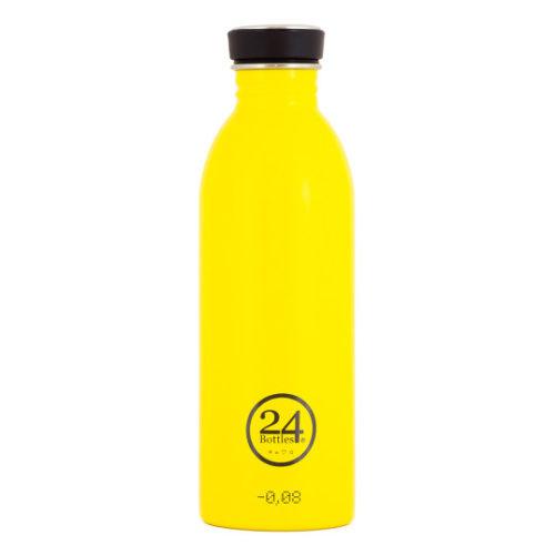 Trinkflasche von 24bottles in gelb