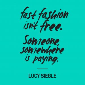 fast fashion isn´t free