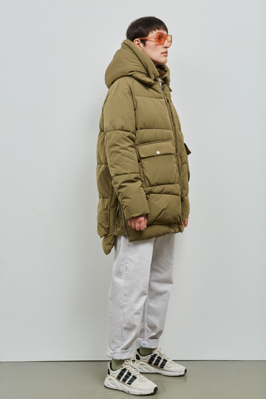 Lyndon Down Jacket Olive Embassy Of Bricks And Logs (2)