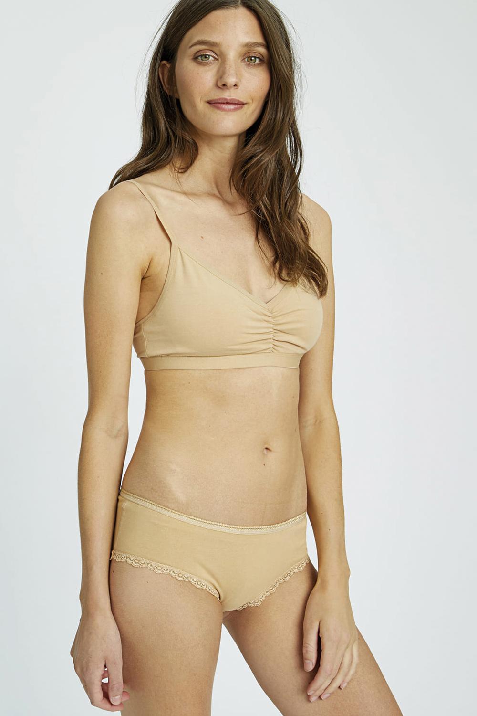 roberta oganic fashion Peopletree Bralette nude 1