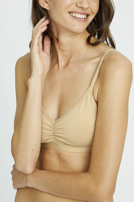 roberta oganic fashion Peopletree Bralette nude 3