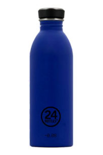 Trinkflasche von 24bottles in gold blue bei roberta organic fashion