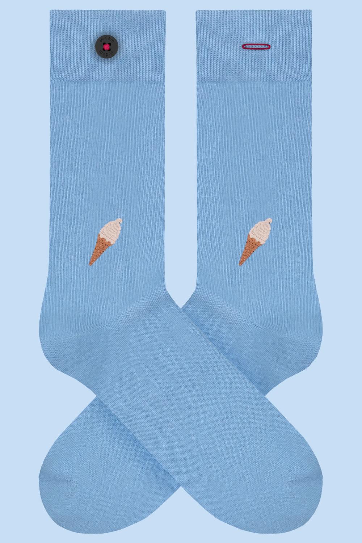 Adam Underwear | Socken Rogier Eis hellblau
