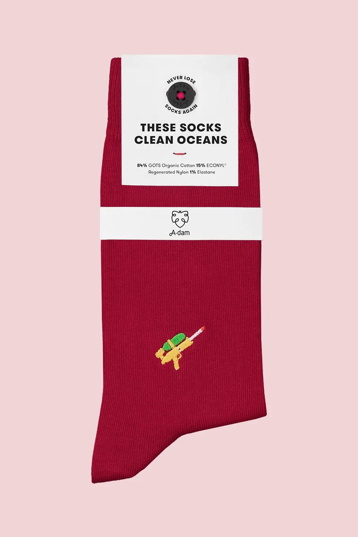 Roberta Organic Fashion Adam Socks Guus 1